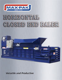 Horizontal Closed End Baler